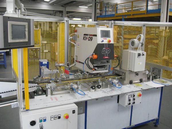 Comec Inkprint KV09 tampondrukmachine in automatisering